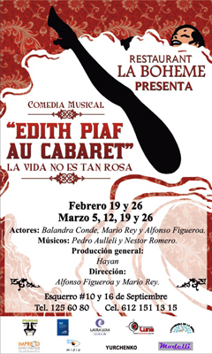 Edith Piaf: Cartel