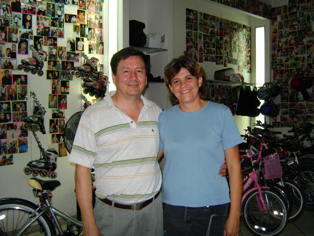 Los Dueños: Rosalva y Fernando