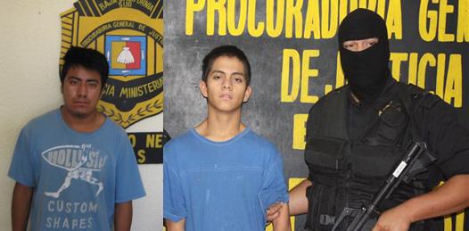 """Sergio Omar Gallegos Castillo, alias """"El Kukis"""" y Julio Alfonso Pérez Zarate"""