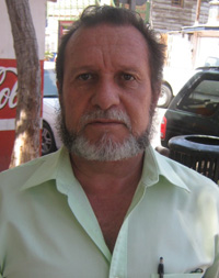 Ramón Antonio Quiñonez, presidente del Club Rotario de Santa Rosalía (Enrique Montaño).
