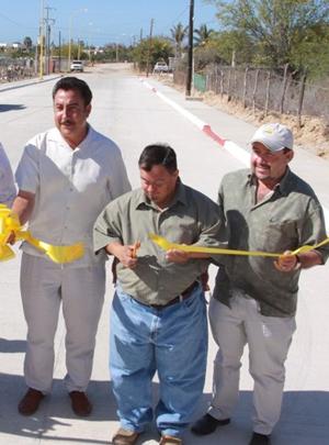 Entrega NAM obras de pavimentacion