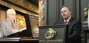 Los senadores Luis Coppola y Eloy Cantú, son parte de una comisión senatorial plural creada para seguir el Caso Jonathan.