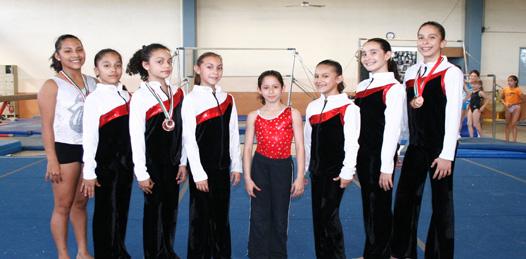 Triunfaron gimnastas sudcas