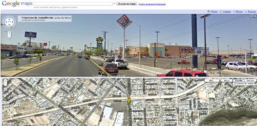 La Paz ya puede ser vista en Google view