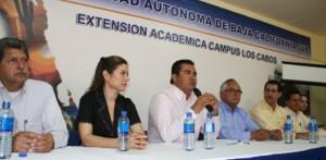 La UBBCS, Campus Los Cabos, celebró su décimo aniversario y lo festejó con foros y encuentros con autoridades estatales y municipales