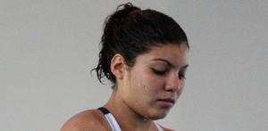 En la tabla de un metro, Karla Rivas terminó en el lugar 16 con 190.05 puntos, mientras que en los clavados sincronizados pero de trampolín de 3 metros teniendo como pareja a Mónica Márquez, terminó el cuarto lugar con un acumulado de 250.08 puntos.