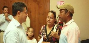 La familia Sánchez Hernández, que habitaban en Ampliación paraíso, una invasión donde se les quemó su casa, recurrieron a la autoridad para recibir ayuda.