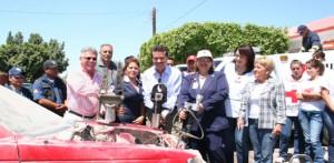 Contribuye Ayuntamiento con Cruz Roja para adquirir las quijadas de la vida