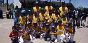 Los Cabos termina como subcampeón del estatal de beisbol pre-infantil.