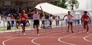 Emilio Estrada podría conseguir la primera medalla de oro para BCS en atletismo de la Olimpiada Nacional 2010, esperando prospere la protesta en los 110 con vallas de la segunda jornada.