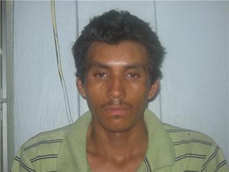 Norberto Solano Busto, sujeto que fue detenido luego de haber sido sorprendido llevando consigo objetos robados