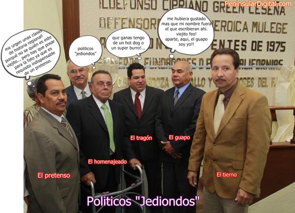 Politicos jediondos