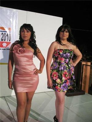 candidatas a reyna de la Expo Comondu