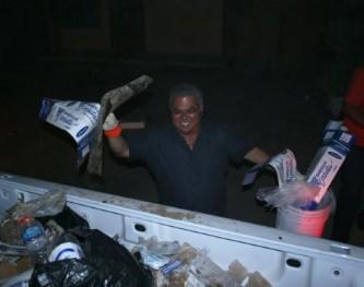 retiro de basura en la zona centro