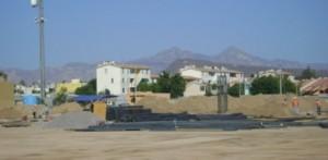 Con inversión de 200 millones de pesos, inició la primera etapa de la construcción de la plaza comercial Punto de Encuentro La Paz.