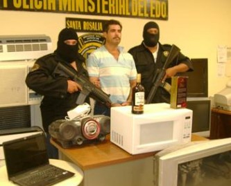 """Rafael Araiza Cordero, alias """"El Pifas""""."""
