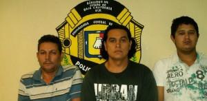 Estos son los detenidos por su supuesta participación en el plagio del empresario cabeño Ernesto Sixto Arámburo Palacios, secuestrado hace casi un mes, el  29 de septiembre de 2010 en la ciudad de San José del Cabo.