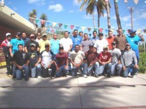 Selección de beisbol de BCS que este día inicia su participación en el Campeonato Nacional de primera fuerza en Lagos de Moreno, Jalisco.