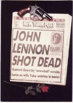"""Lennon murió a los 40 años, edad en la que según el músico, """"la vida comenzaba""""; sin embargo, su suerte y el fervor de uno de sus fanáticos nunca coincidieron en ello."""