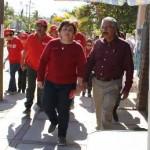 Las actividades de campaña de Barroso y Ponce culminaron en El Pescadero con una jornada social vespertina, en la que los niños fueron agasajados con piñatas y regalos, como antecedente de los festejos del tradicional Día de Reyes.