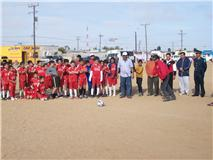 Arranca el torneo de futbol infantil y Juvenil de La Amistad