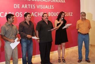 Inauguran exposición de obras seleccionadas de la Quinta Bienal