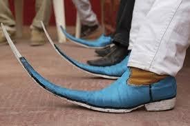 botas picudas