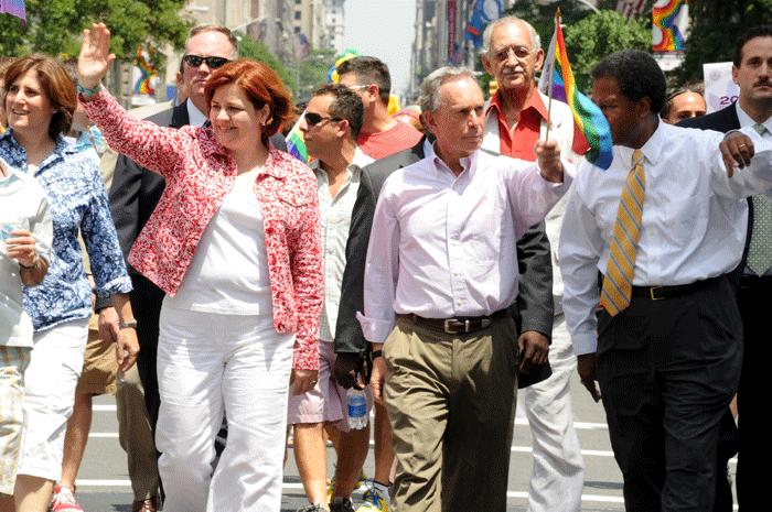 El alcalde de Nueva York, Michael R. Bloomberg