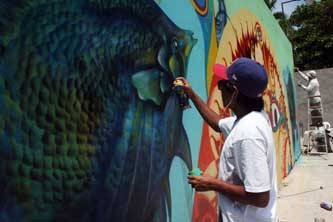 Quitar el estigma del graffiti como un delito y situarlo como un arte, el objetivo de Zénok