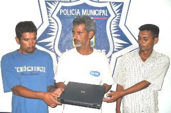 Pablo Enrique de la Vega Fernández, Guillermo Vázquez Espinosa y Armando Loera Luévano.