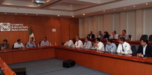 """En el evento convocado por la dirigencia nacional contó con la asistencia del presidente de la república Felipe Calderón y se realiza con el fin de """"fortalecer la unidad del partido y acordar estrategias de cara a los comicios federales del 2012."""