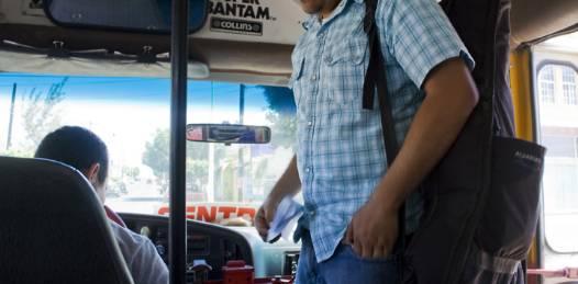 """""""Yo creo que no tarda en que demos ese brinco y sustituir el parque vehicular, es cuestión de que se den las condiciones entre los dueños del transporte y las financieras"""", señaló Isaías Cuevas González."""