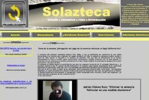 En la página del sol azteca pueden consultarse entrevistas a dirigentes de distintos partidos políticos, columnas de pujantes periodistas.