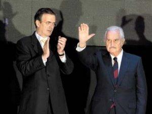 """Fuentes descartó a López Obrador como abanderado de la izquierda en las elecciones de 2012, pero sostiene que hoy existe """"un buen candidato de izquierda"""", y de inmediato se refiere al jefe del gobierno capitalino."""