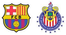 Aplastan las Chivas 4 -1 al Barca