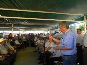 El nuevo delegado de la SEDESOL, Carlos Corona León y el delegado de Sagarpa Álvaro Gómez Reinoso, anunciaron una serie de beneficios para más de mil 200 ciudadanos de la zona rural de Los Cabos.