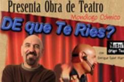 """""""De qué te ríes"""" """"no pretende ver el mundo desde la visión de un tratado de sociología o de ciencias humanas; se trata de hacer una revisión a ciertas actitudes del hombre del mundo contemporáneo"""", explica el director de la Alianza, Rubén Sandoval."""
