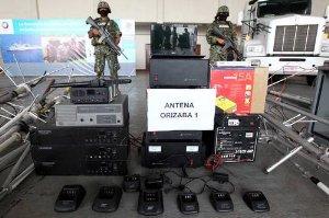 En conferencia de prensa el vocero de la Secretaría de Marina-Armada de México (Semar), José Luis Vergara, informó que este sistema de comunicaciones permitía al referido grupo delictivo coordinar con precisión sus operaciones criminales, principalmente en la zona centro y norte de Veracruz.