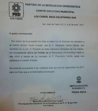 El Presidente del PRI Jesús Flores Romero, dio a conocer ayer que la comisión de procesos internos del PRI, dio por finalizado el proceso de elección a la nueva dirigencia municipal, encabezada por Modesto Robles como presidente y Elizabeth Patiño como secretaria general.