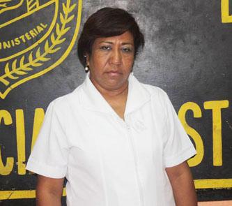 Bertha de la Rosa Zamorano.