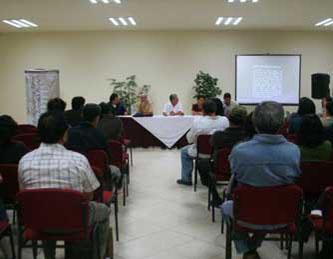 El Centro de Convenciones y Expresión Cultural de Sudcalifornia se localiza dentro de la Unidad Cultural Profesor Jesús Castro Agúndez.