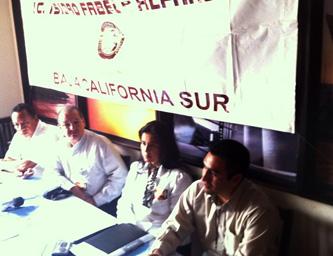"""La asociación se ha destacado por la integración de reconocidos """"cuadros políticos"""" de sus integrantes en todo el territorio nacional, sin embargo Rubio Núñez aseveró que los objetivos de """"Isidro Favela"""" en Baja California Sur son sólo los de la promoción de actividades culturales y deportivas."""