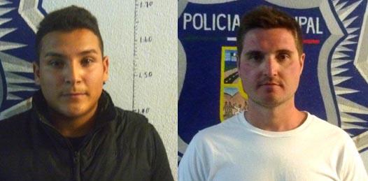 Noé Adriano Ortega y Jeffrey Starsbany.