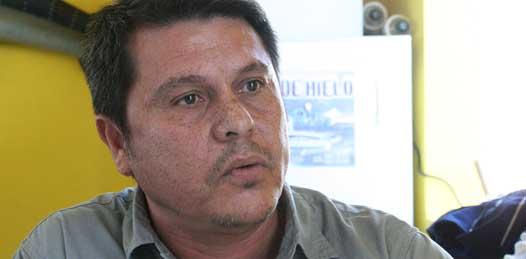 """""""Son los mismos protectores"""", la administración estatal y la procuraduría de justicia no han cambiado, señala Daniel Hernández Aguirre, padre de Jonathan Hernández Ascencio."""