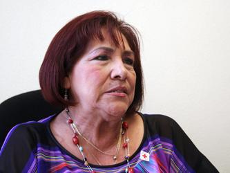 """Castañeda Quintero aclaró que  """"no es por denostar a nadie"""", en este caso a la directora de ingresos, Martha Nevares Esparza, """"pero para mí es primordial que se abra una ventanilla única para jubilados y pensionados"""", dijo."""