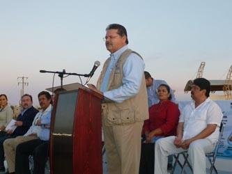 """Con una inversión de 69 millones 590 mil pesos, inició la construcción de la planta de tratamiento, """"Cangrejos""""."""