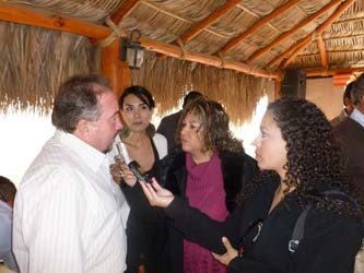 Antonio Agúndez, aseguró que continuará con la entrega de obras de calidad a la ciudadanía.