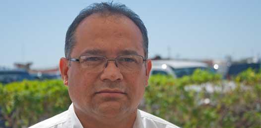 """El superintendente Ernesto Ramírez Castro aseguró que La Paz """"está al corriente, tienen su facturación sin ningún problema, están al corriente en sus pagos"""" desde hace algunos meses, no obstante, dijo, los ayuntamientos de Loreto y Mulegé, """"específicamente"""", """"sí tienen adeudos""""."""