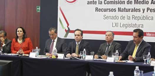 Ante Senadores, defendió el titular de SEMARNAT el proyecto turístico en Cabo Pulmo