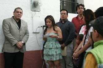 """José Guadalupe Ojeda Aguilar, mencionó que a Manríquez """"no le faltan méritos ni talentos artísticos para que se haya resuelto darle este nombre a Casa de la Cultura"""", a la que calificó de ser un """"edificio centenario, emblemático de la ciudad y puerto de La Paz""""."""